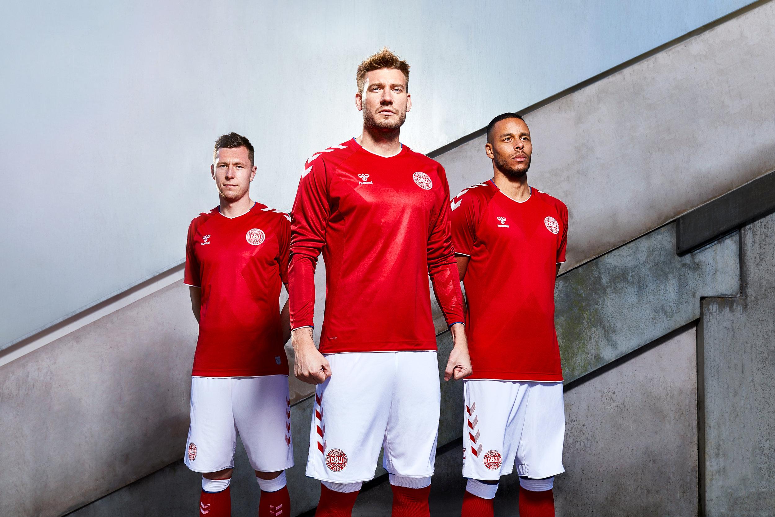 Danish National team - Hummel sports catalogue
