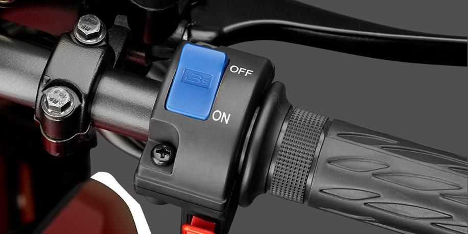 SISTEMA i3S - La tecnología i3S te permite ahorrar combustible, apagando el motor de tu moto cuando frenas y arrancándolo cuando vuelves a avanzar. Mayor información del sistema aquí.