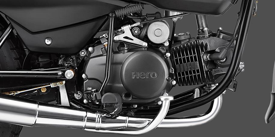 MOTOR 125CC - Motor ASFS (advanced swirl flow induction system) mayor potencia y torque, con menores revoluciones para conducción en ciudad.