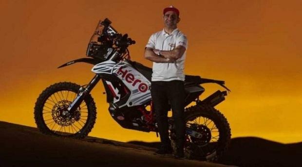 Paulo Gonçalves - Nuevo integrante del equipo de Rally Hero