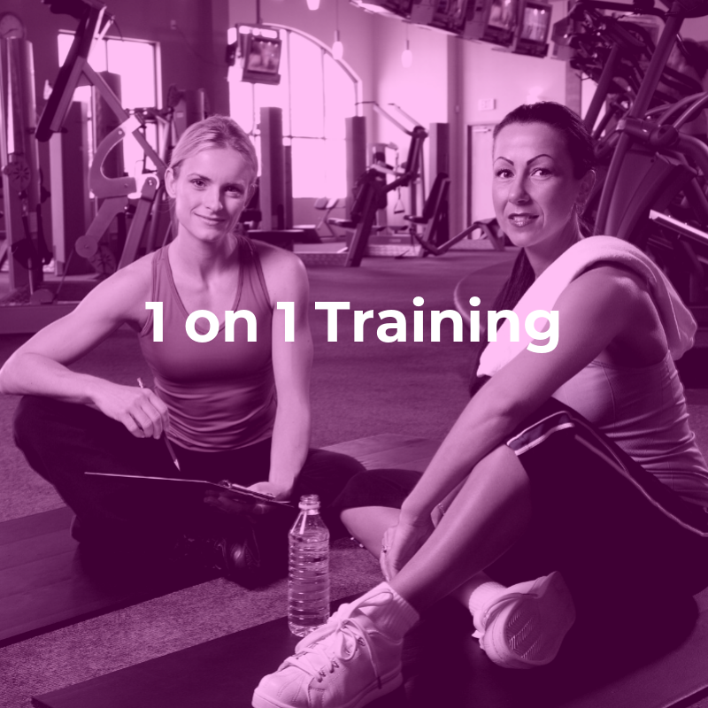 1 on 1 Training   Our specialized trainers will work   with   you to customize a plan tailored to   your   goals.