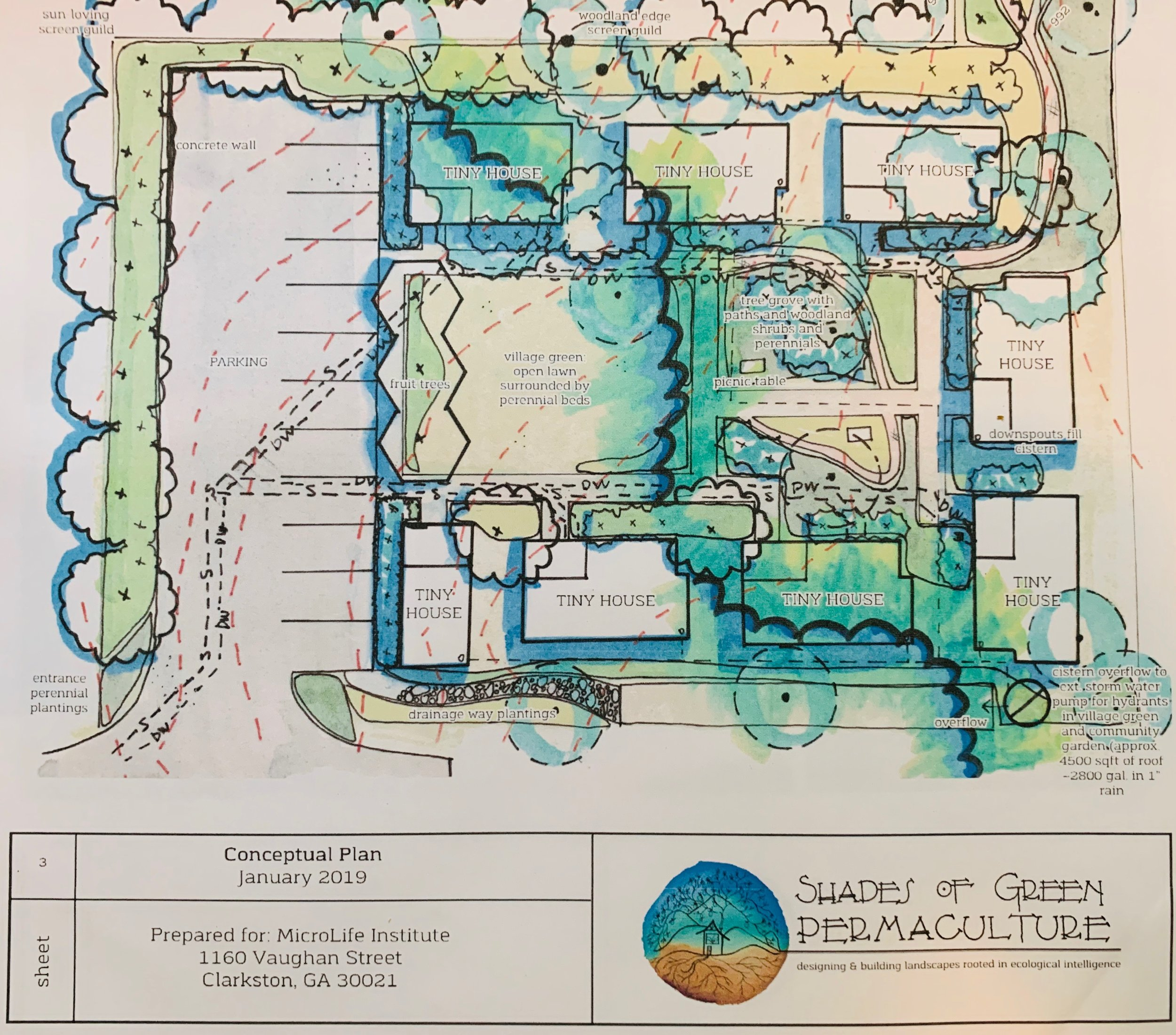 Permaculture Landscape Design by: Shades of Green Permaculture