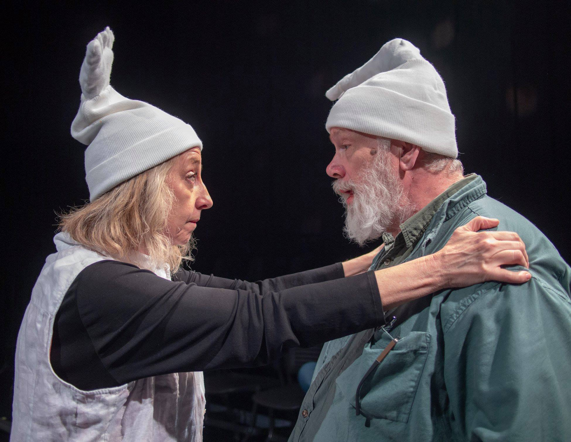"""Christine Nicholson and Luther Hanson in """"Don't Bleed On Me,"""" directed by Michael Sicilia."""
