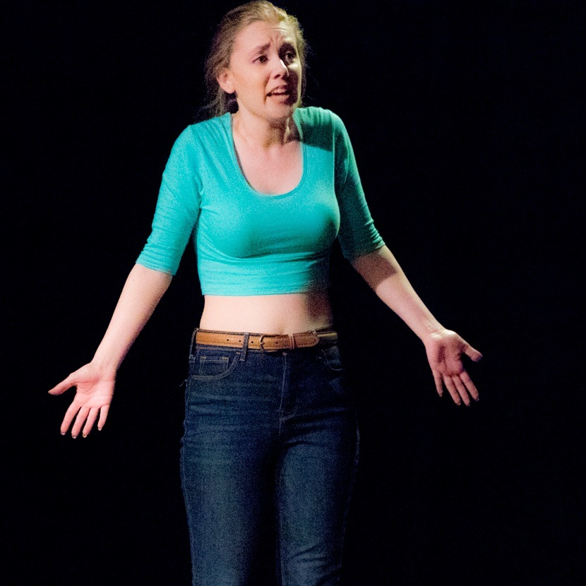 "Natalie Evans in ""What Are You Going To Be?"" directed by Betsy Raymond."