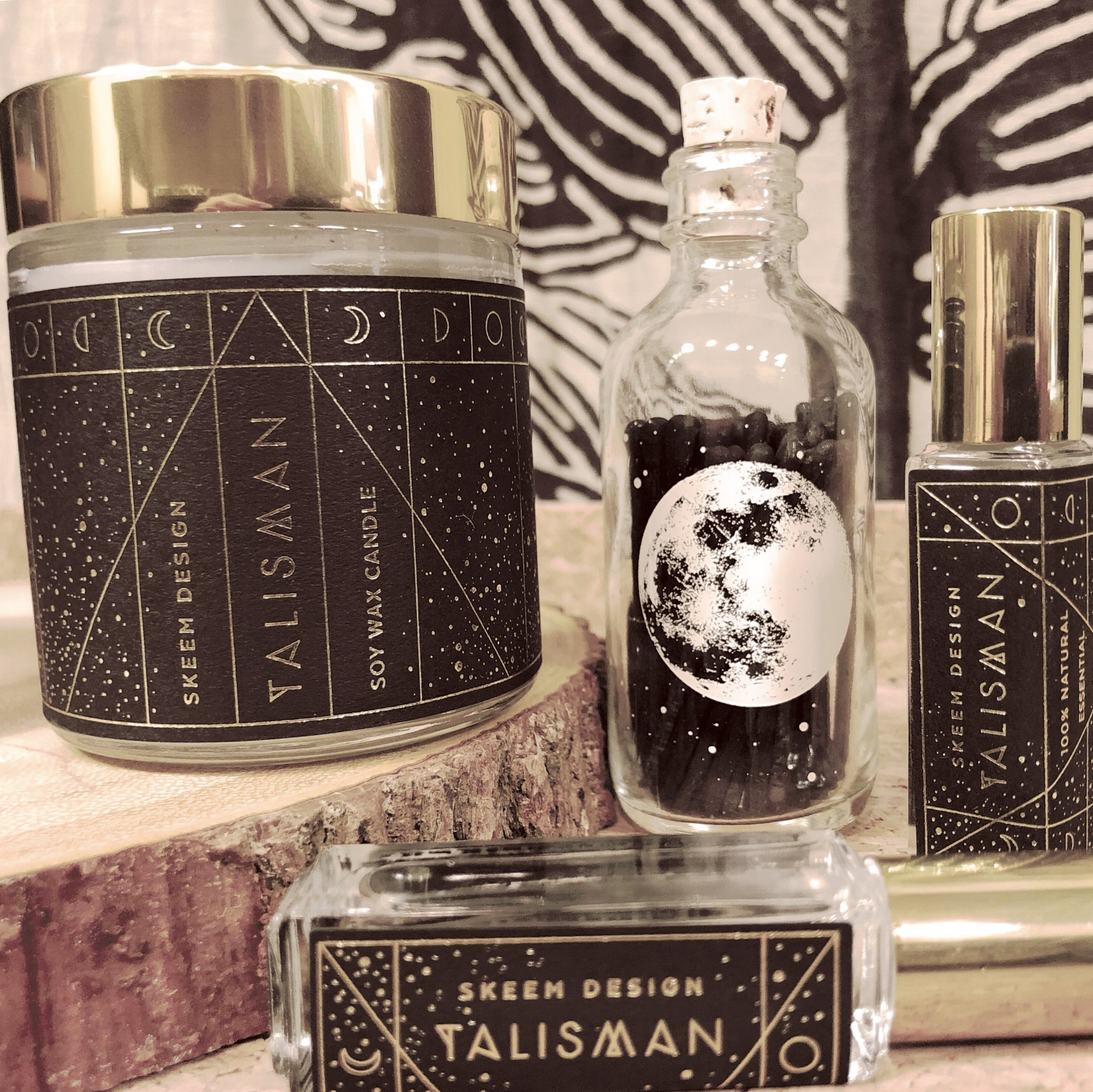 Skeem Design's Talisman Collection with Astronomy Matches.