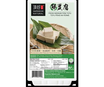 Fresh Medium Firm Tofu (680g)