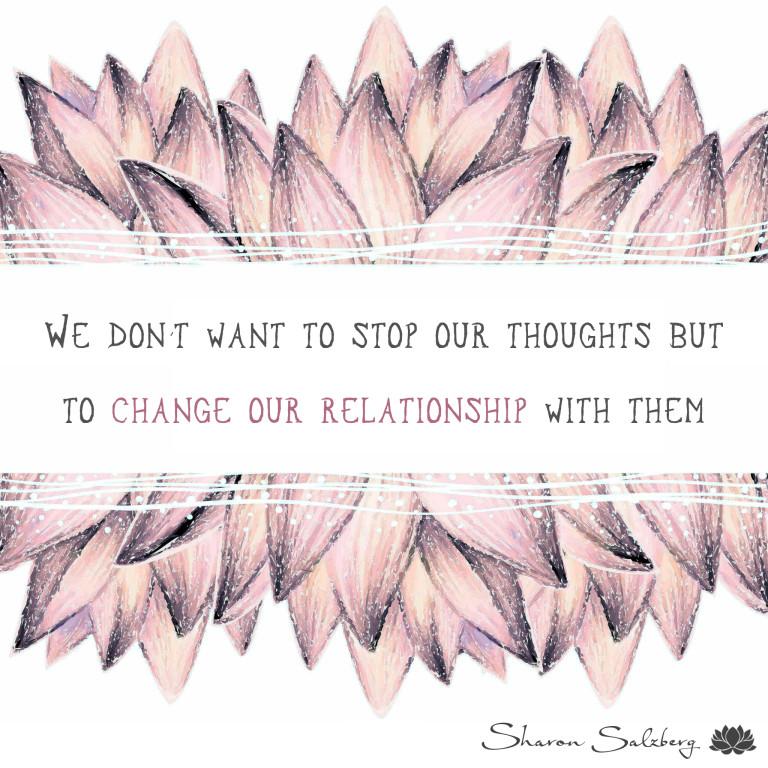 @SharonSalzberg #RealHappinessChallenge Day 3
