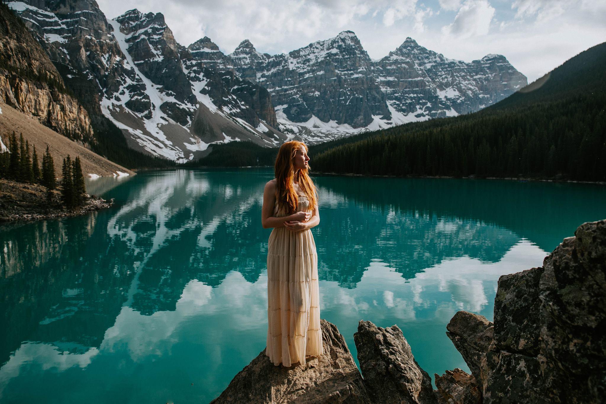 moraine lake canada lake Louise banff shelby robinson thistlewood photo