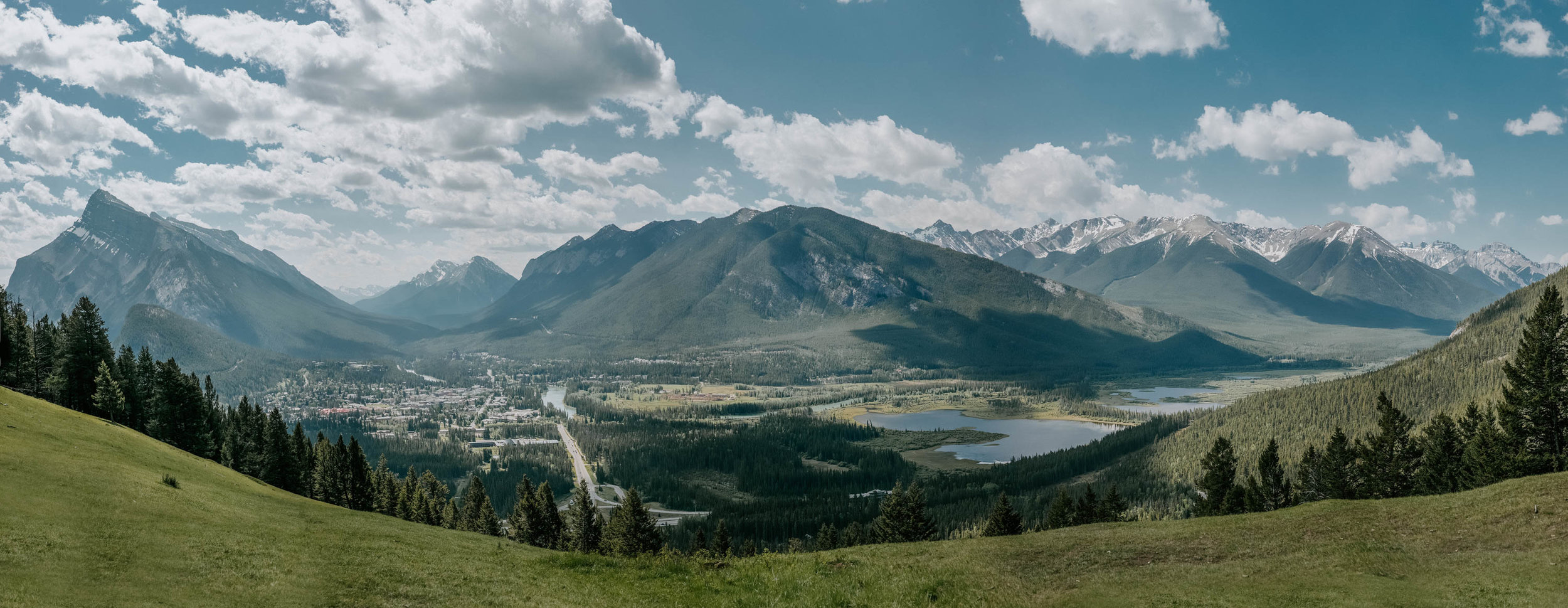 canada canadian best places tourism outdoor Mount Norquay Viewpoint  The Green Spot  tourist hike travel guide explore  banff jasper  alberta lake louise moraine