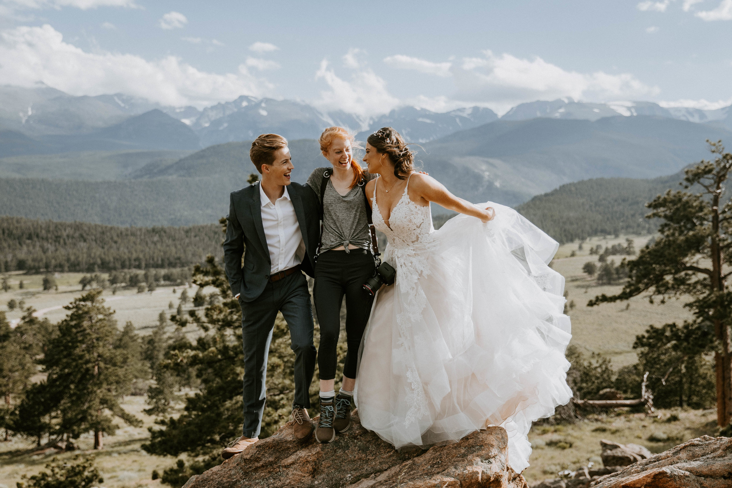 shelby robinson photography thistle wood photo rocky mountain national park rmnp elopement wedding destination wedding mountains hiking adventure bride