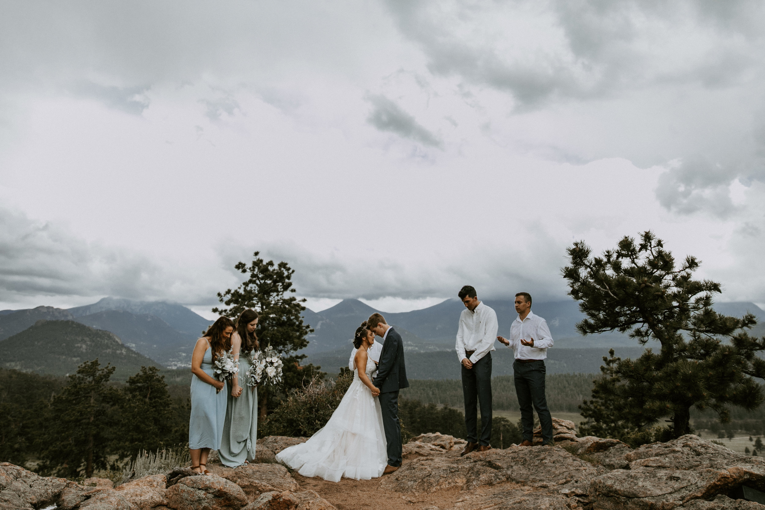 rocky mountain national park rmnp elopement intimate wedding colorado mountain