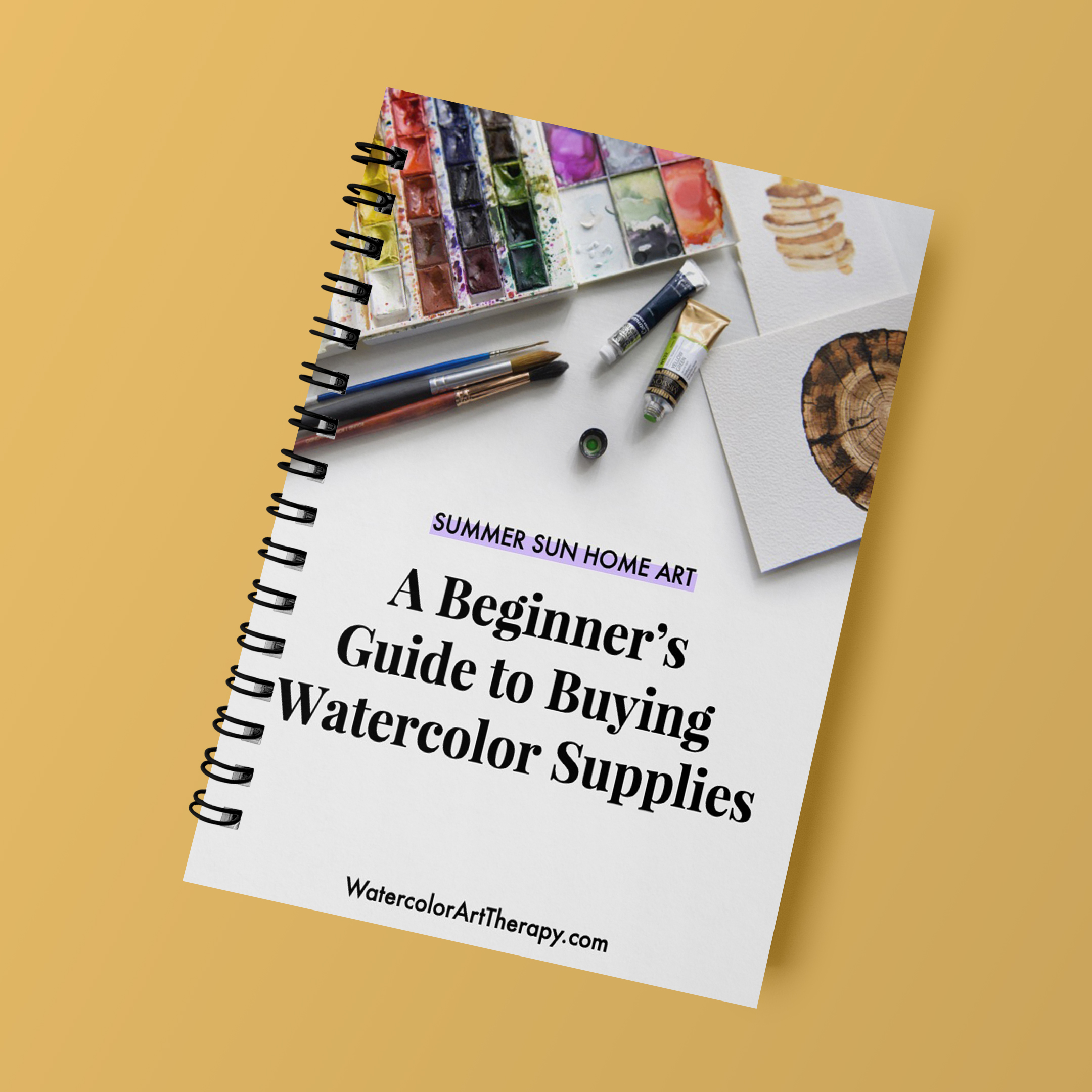 Stuck on choosing the right supplies? - Let me help you find a perfect set of watercolor supplies that suits your need and budget. Grab my FREE guide that walks you through the key things to consider before buying paints, paper and brushes.