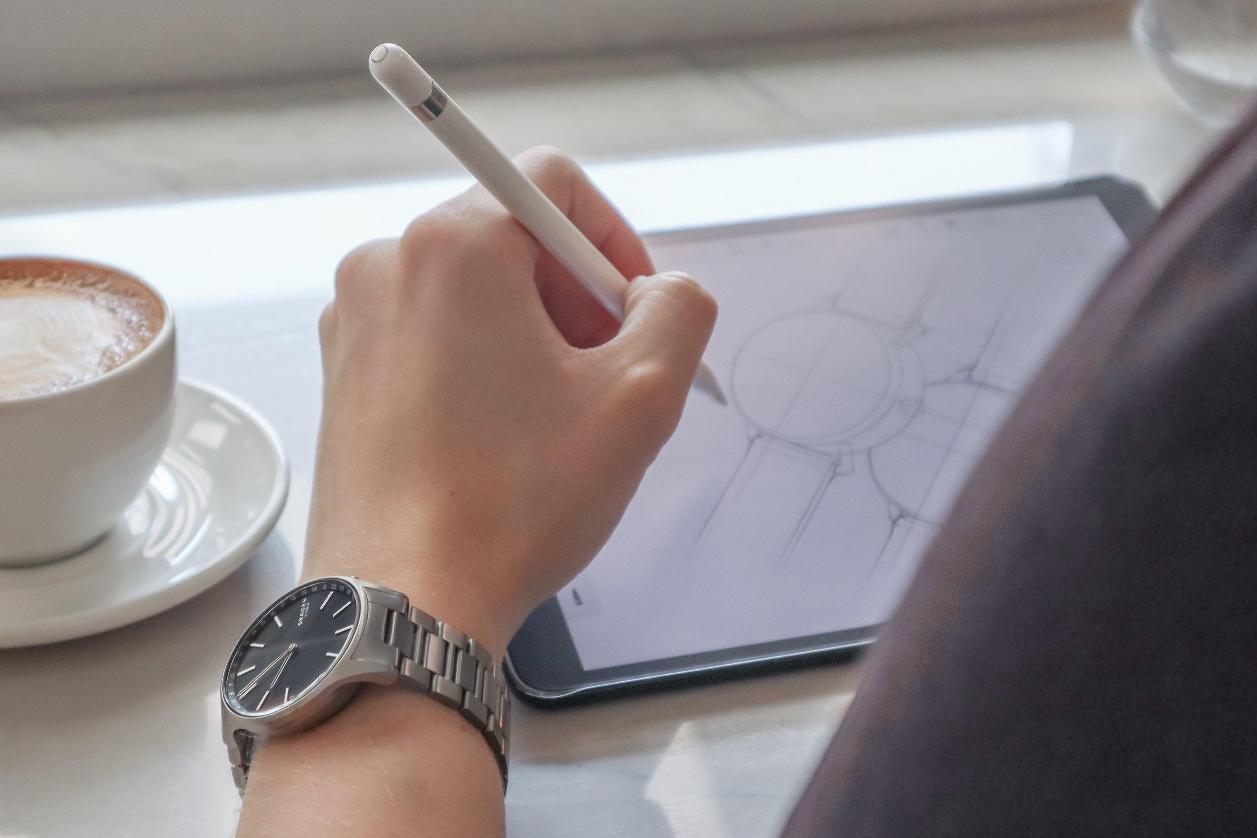 Skagen iPad Apple Pencil Watch Draw.JPG