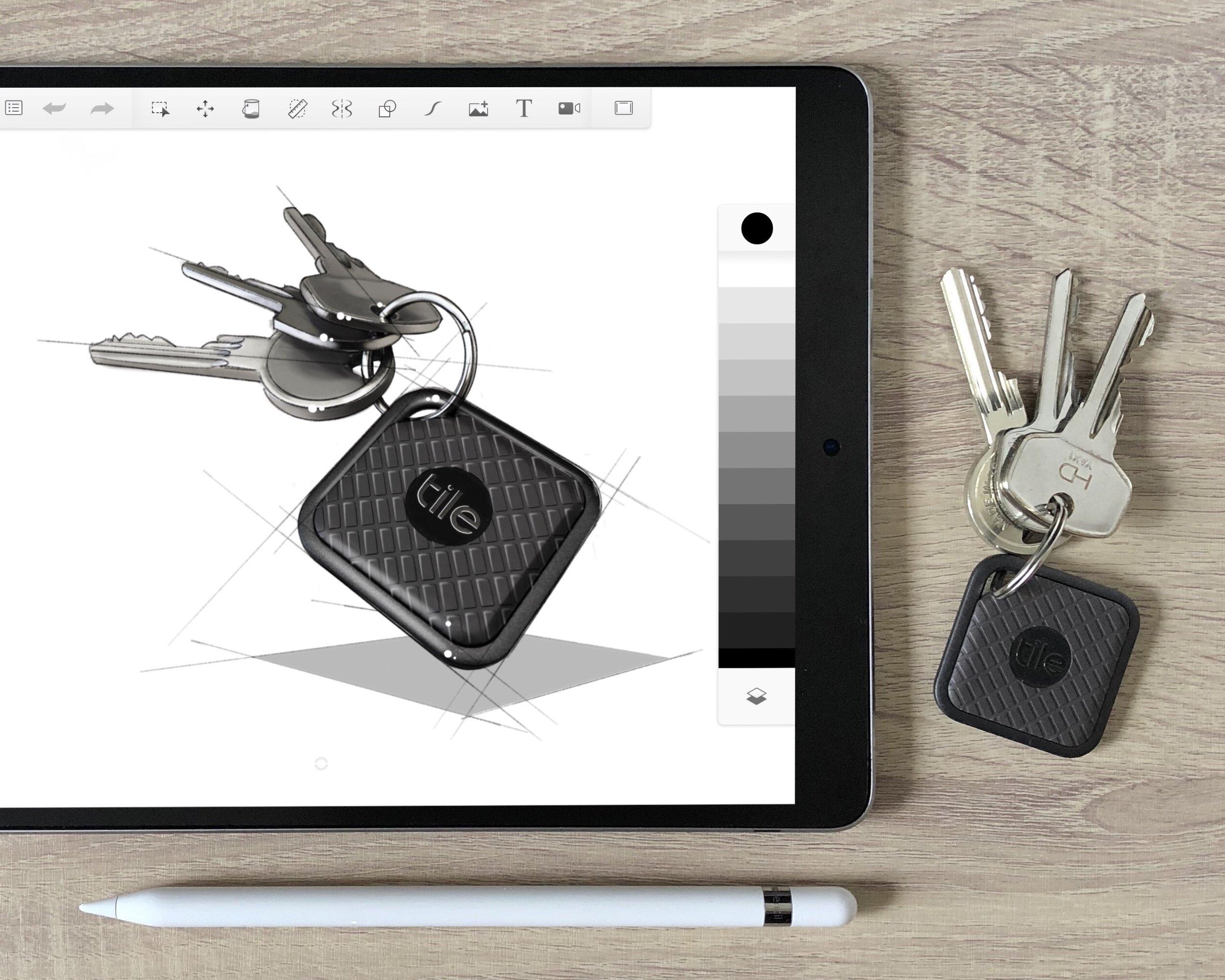 Tile Pro iPad Apple Pencil sketch.jpg
