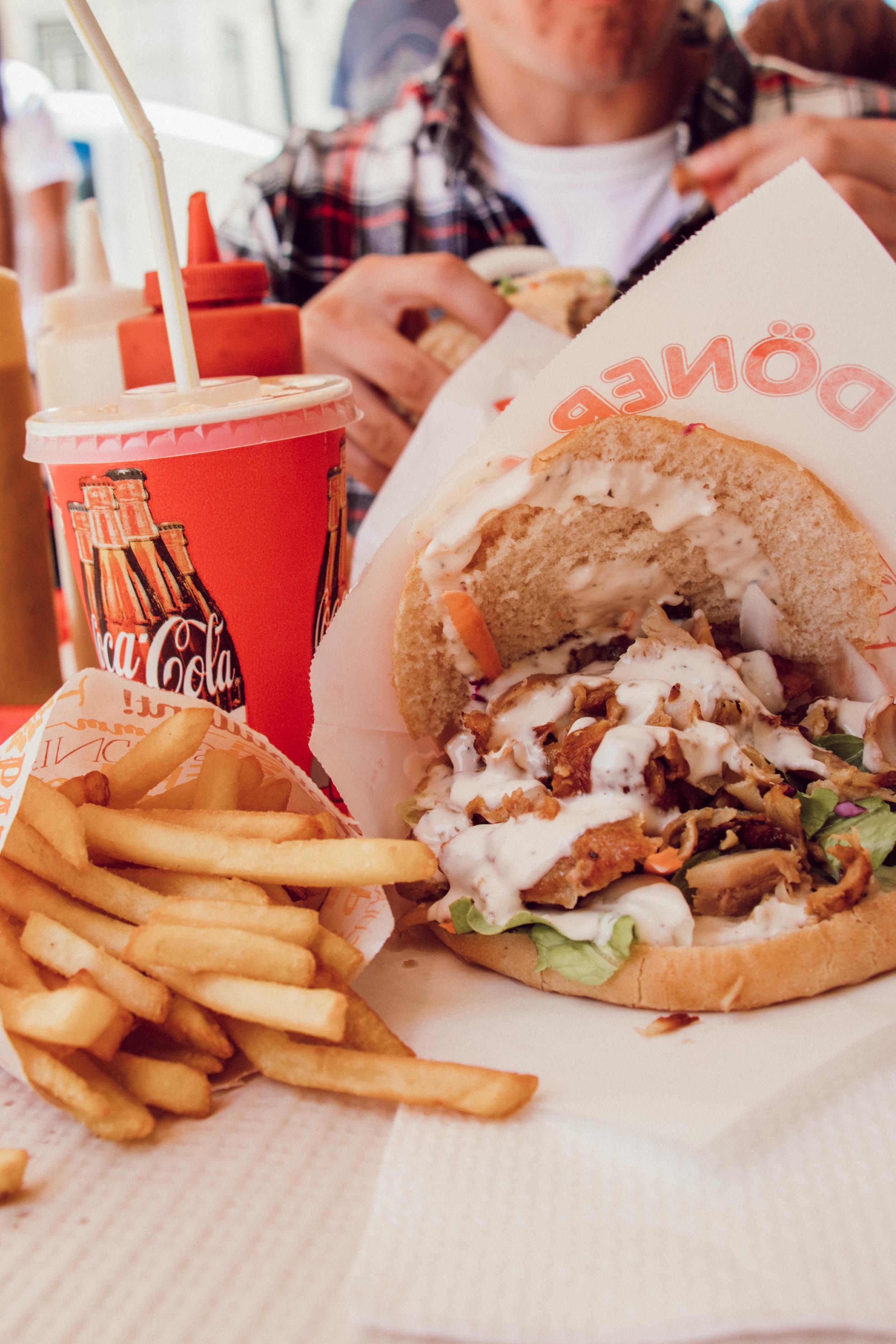 Doner Kebabs… Ahhh I'm drooling