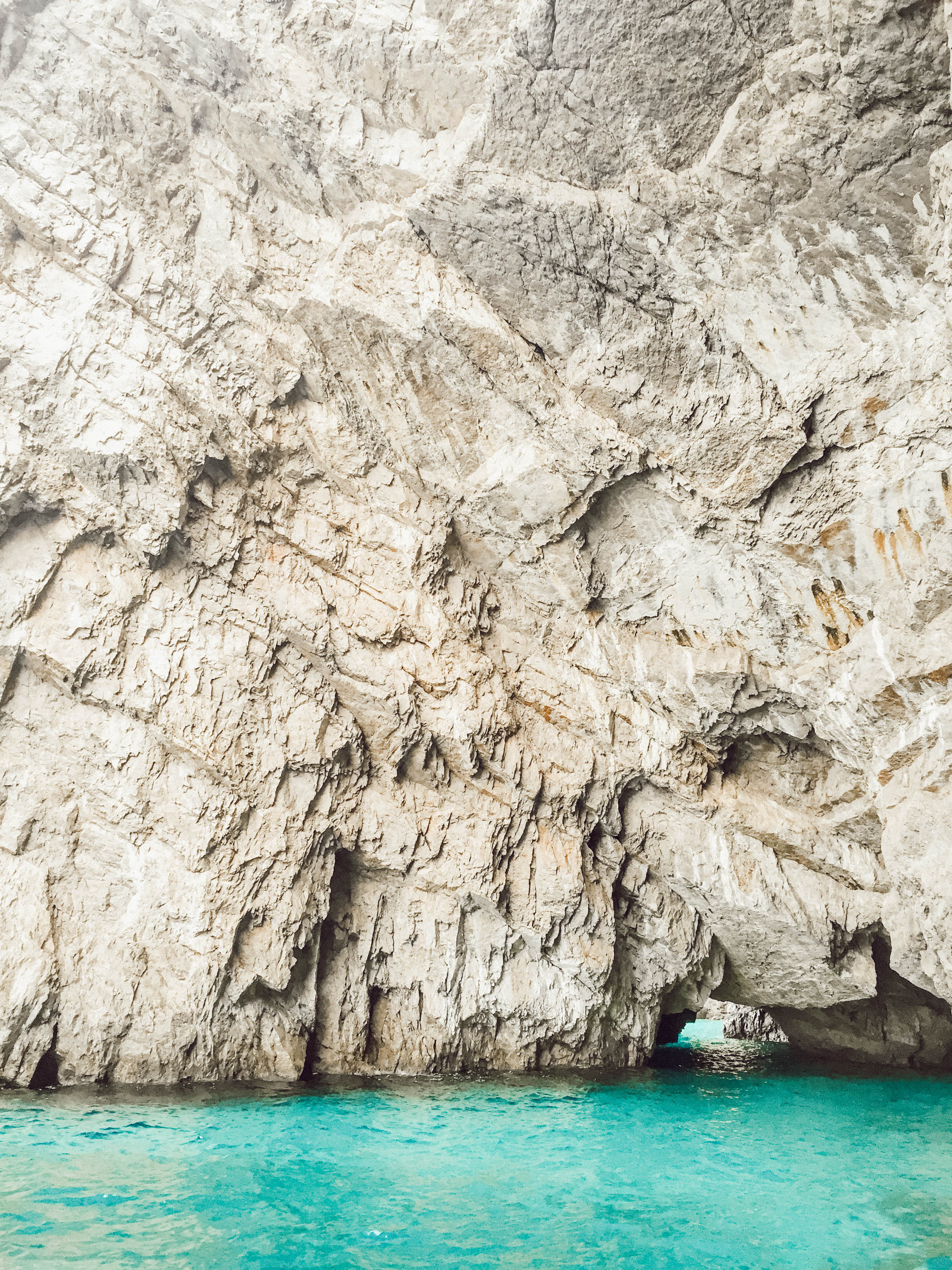 The Beautiful formations of Capri