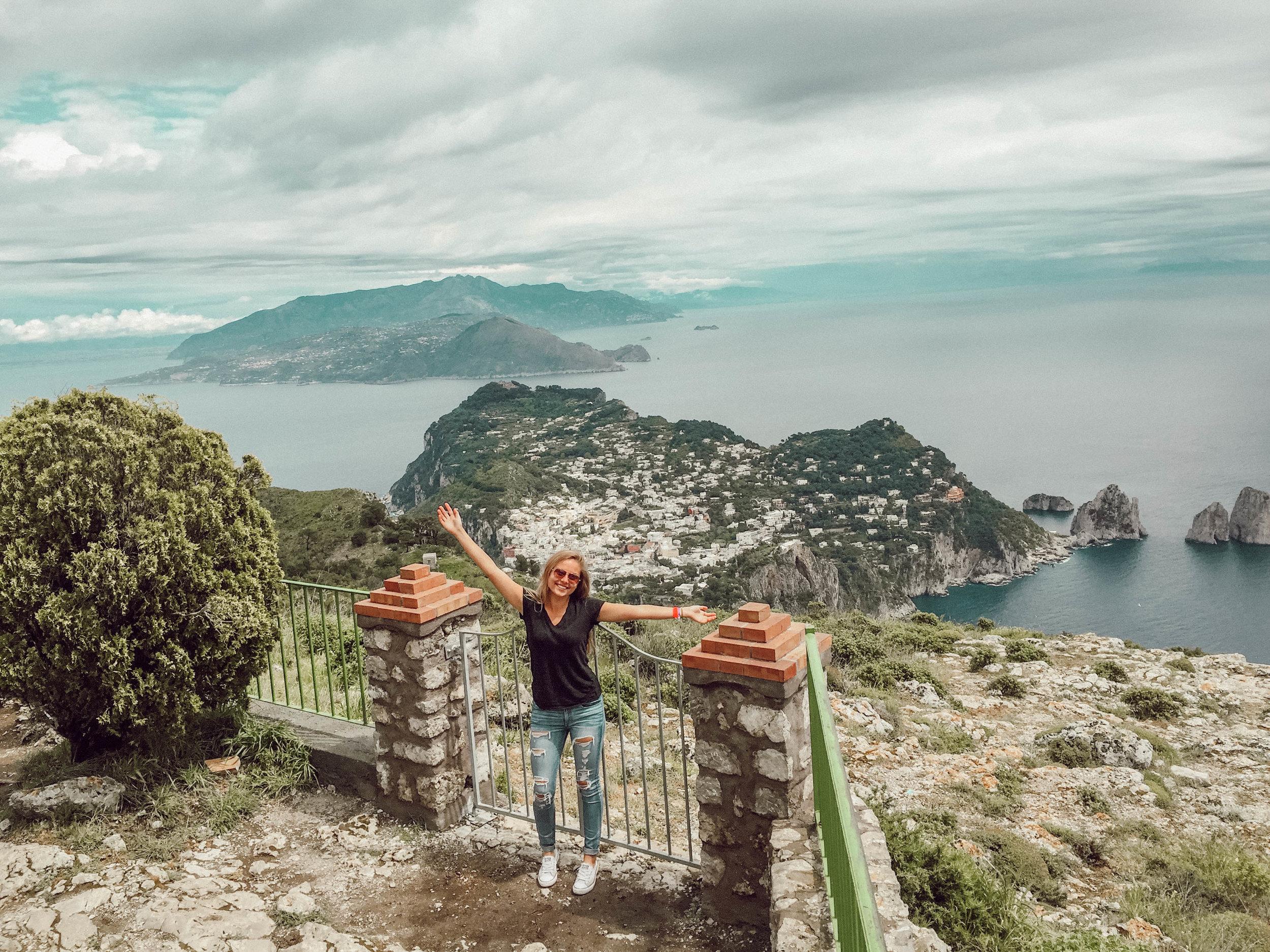 On top of Anacapri