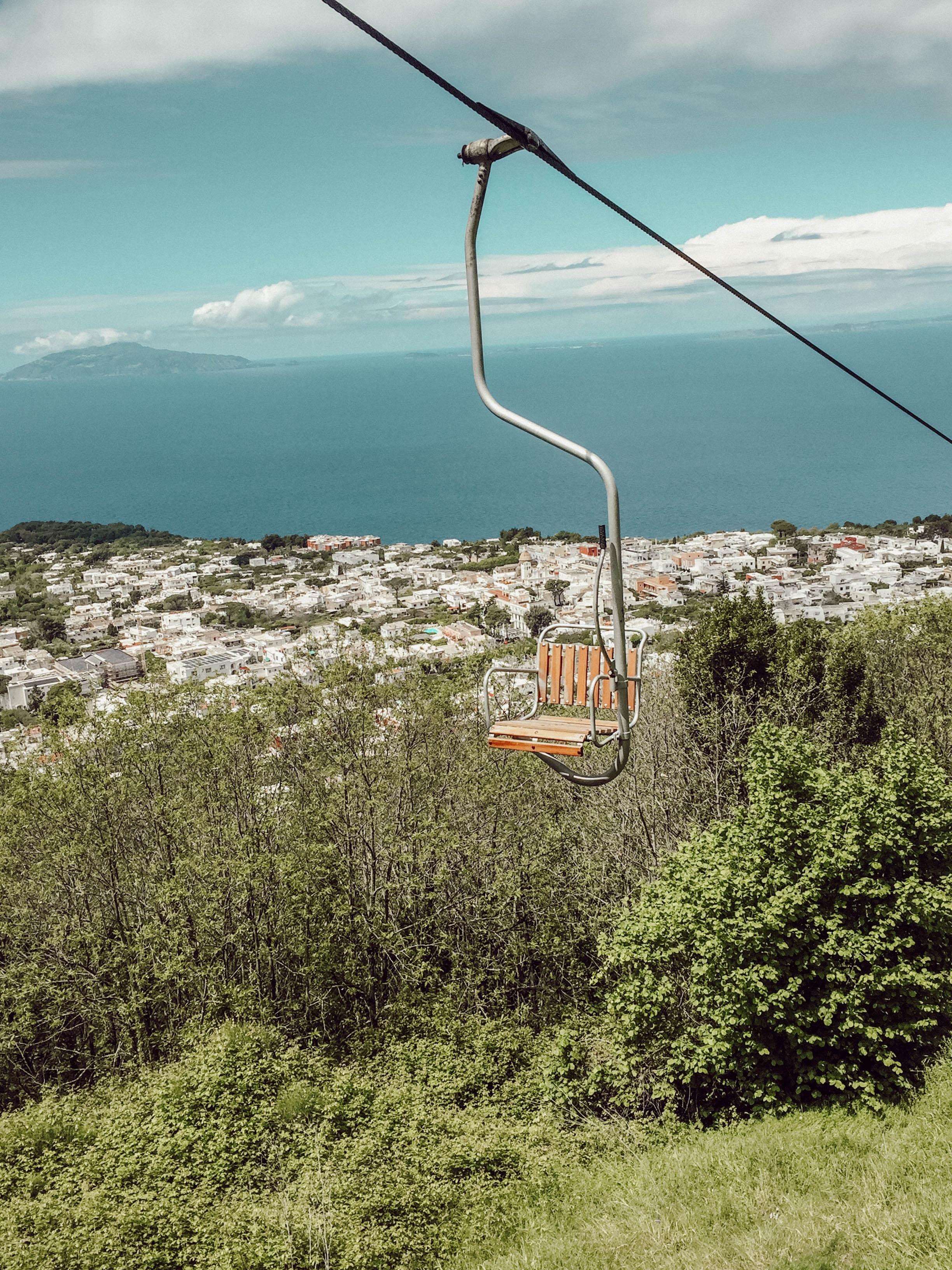 Chairlift to Anacapri