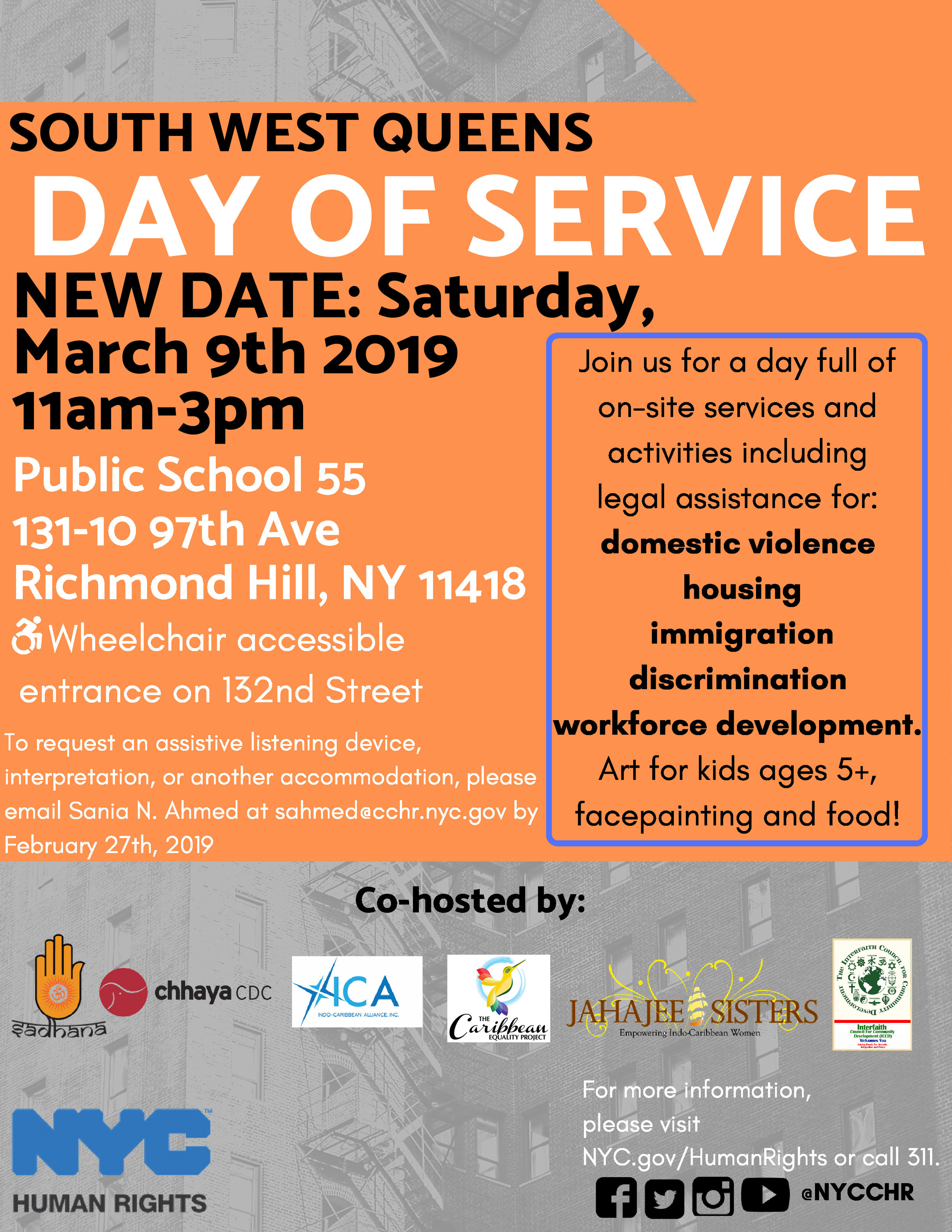 South West Queens Day of Service