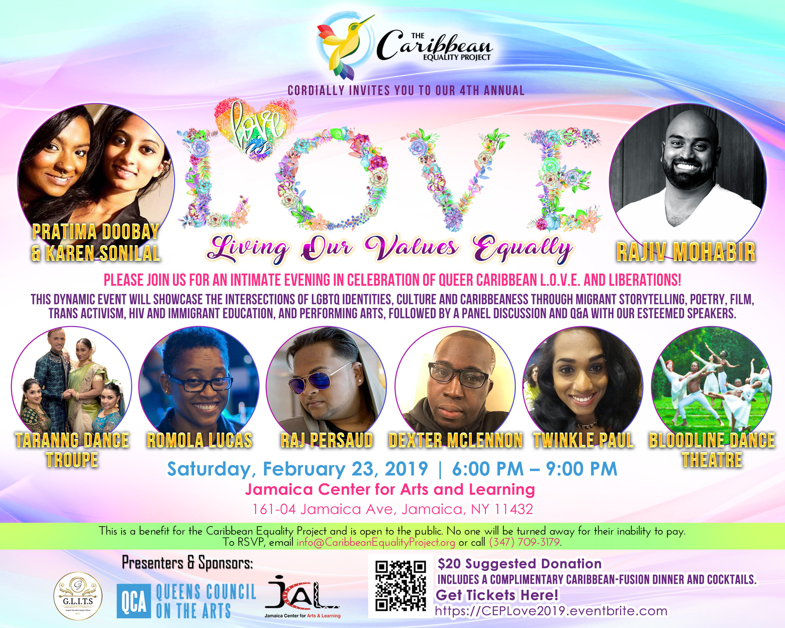 Love is L.O.V.E.: Living Our Values Equally 2019