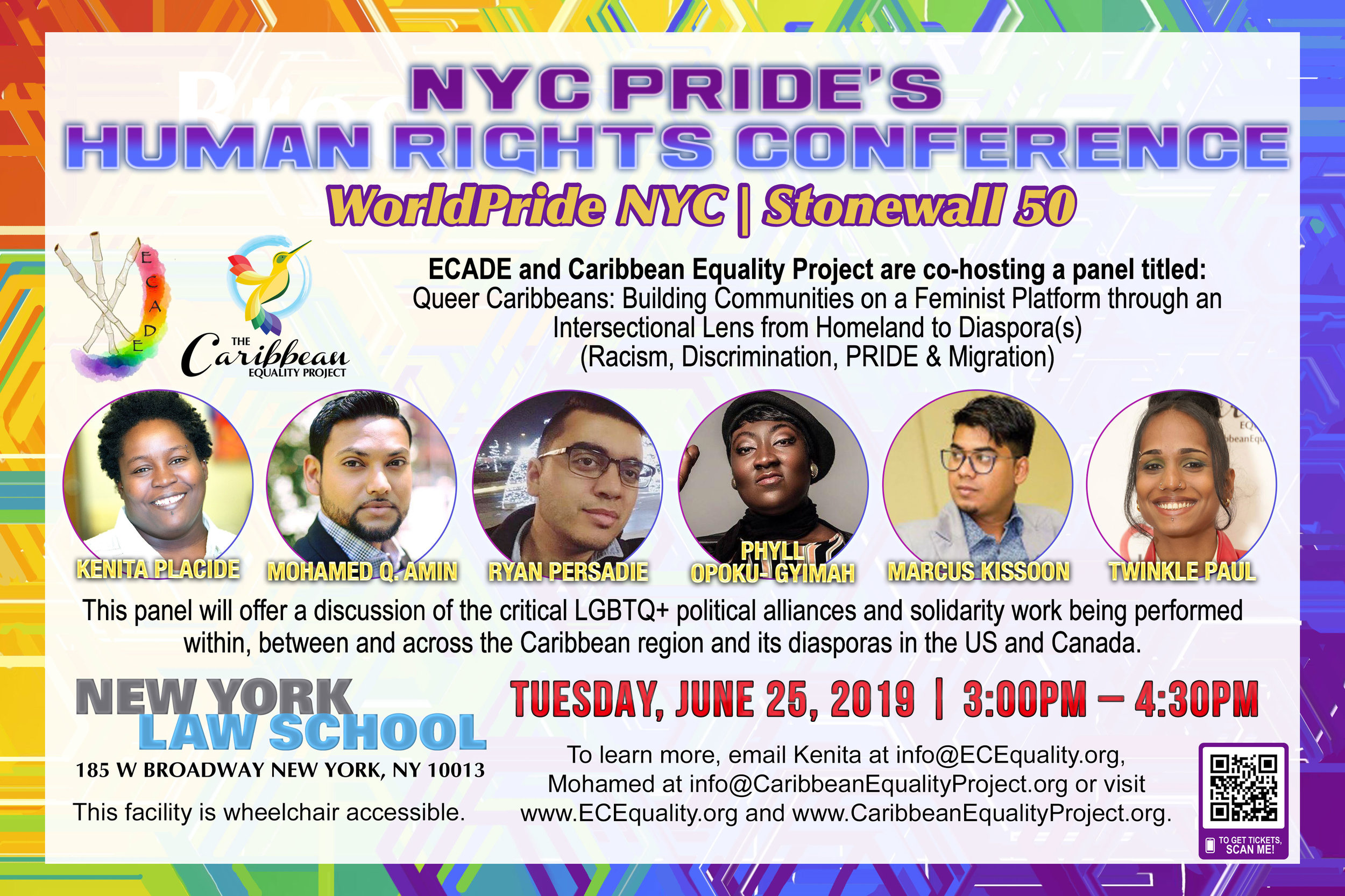 NYC Pride's Human Rights Conference