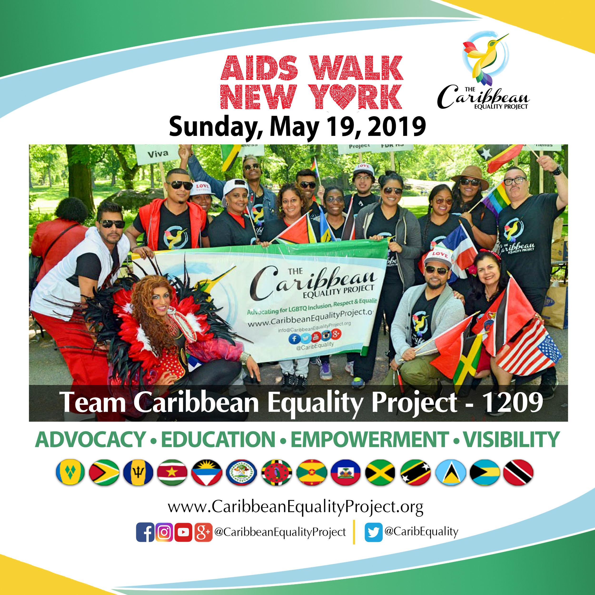 AIDS Walk NY 2019 - #TeamCEP