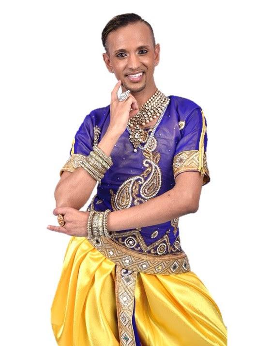 International Dancer Zaman - Dancer and Arts & LGBTQ Rights Activist