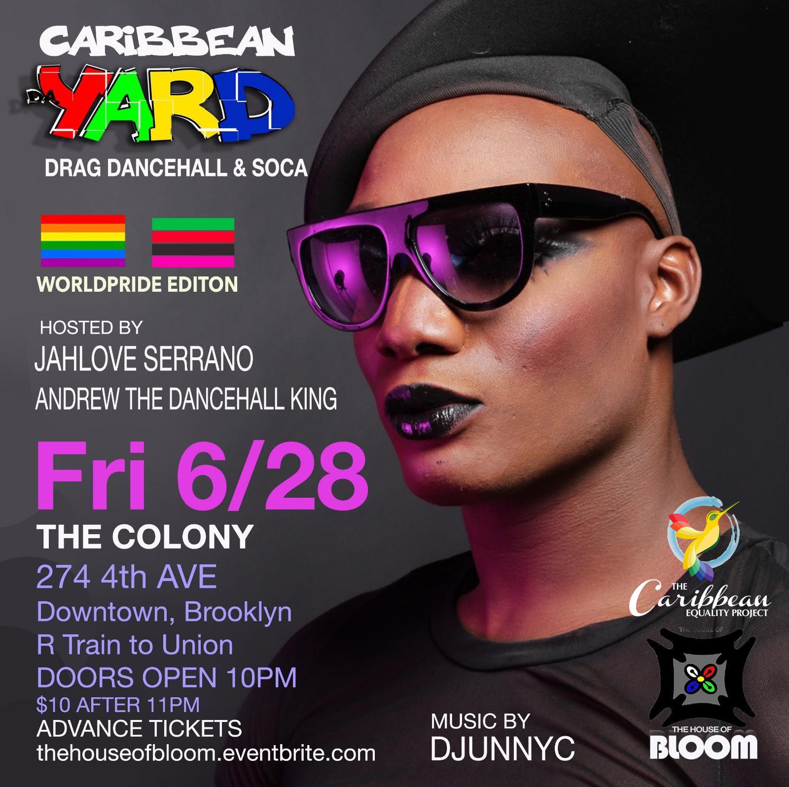 Caribbean Yara - WorldPride Edition