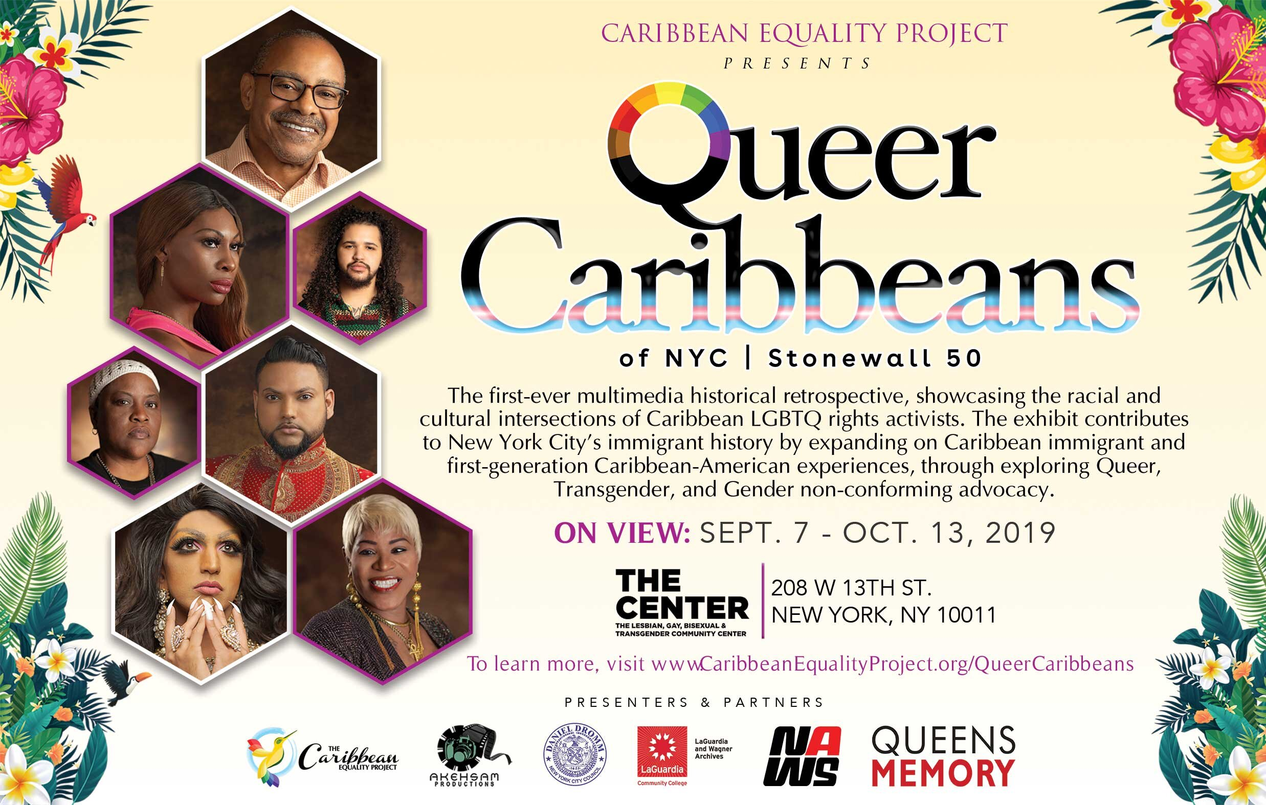 Queer Caribbeans of NYC | Stonewall 50 Exhibition