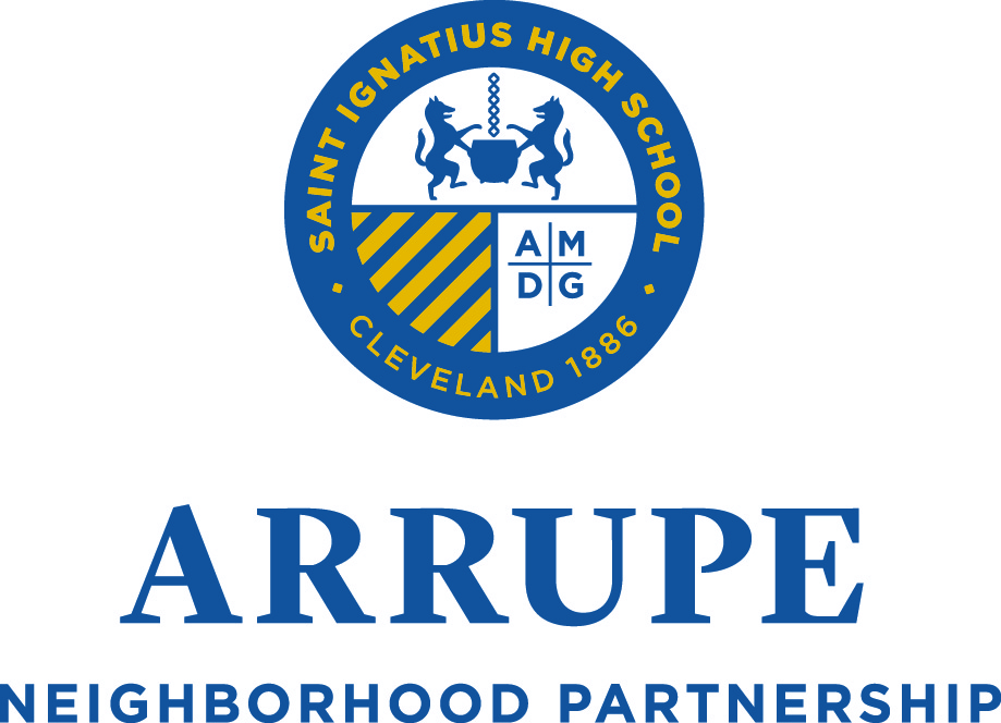 The Arrupe Neighborhood Partnership at Saint Ignatius High School is dedicated to the formation of students and the Saint Ignatius community as a whole by providing an opportunity to work and learn with neighboring residents, schools, churches and agencies in the areas of education, mentorship, recreation and good will.