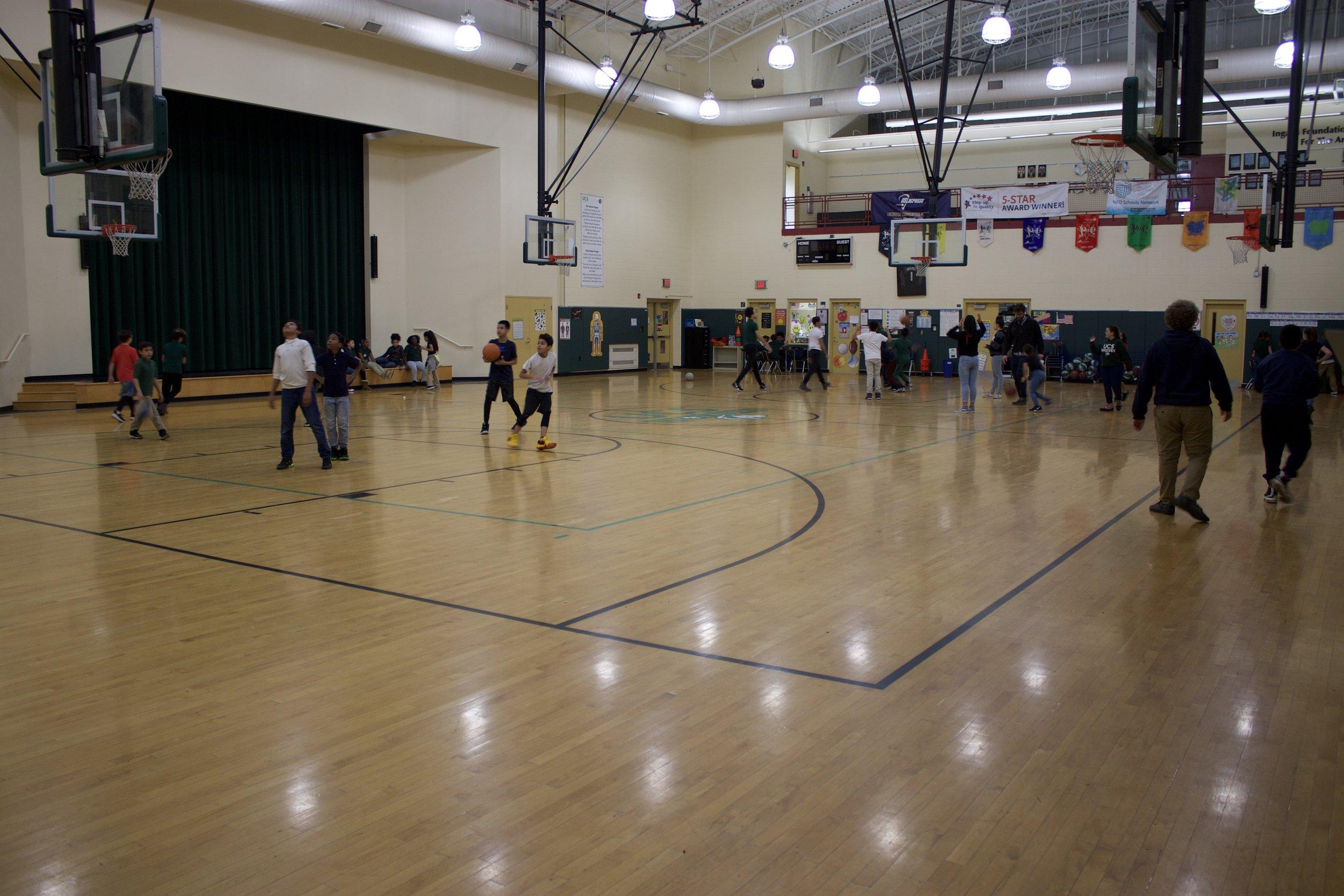 McBride Family Gymnasium