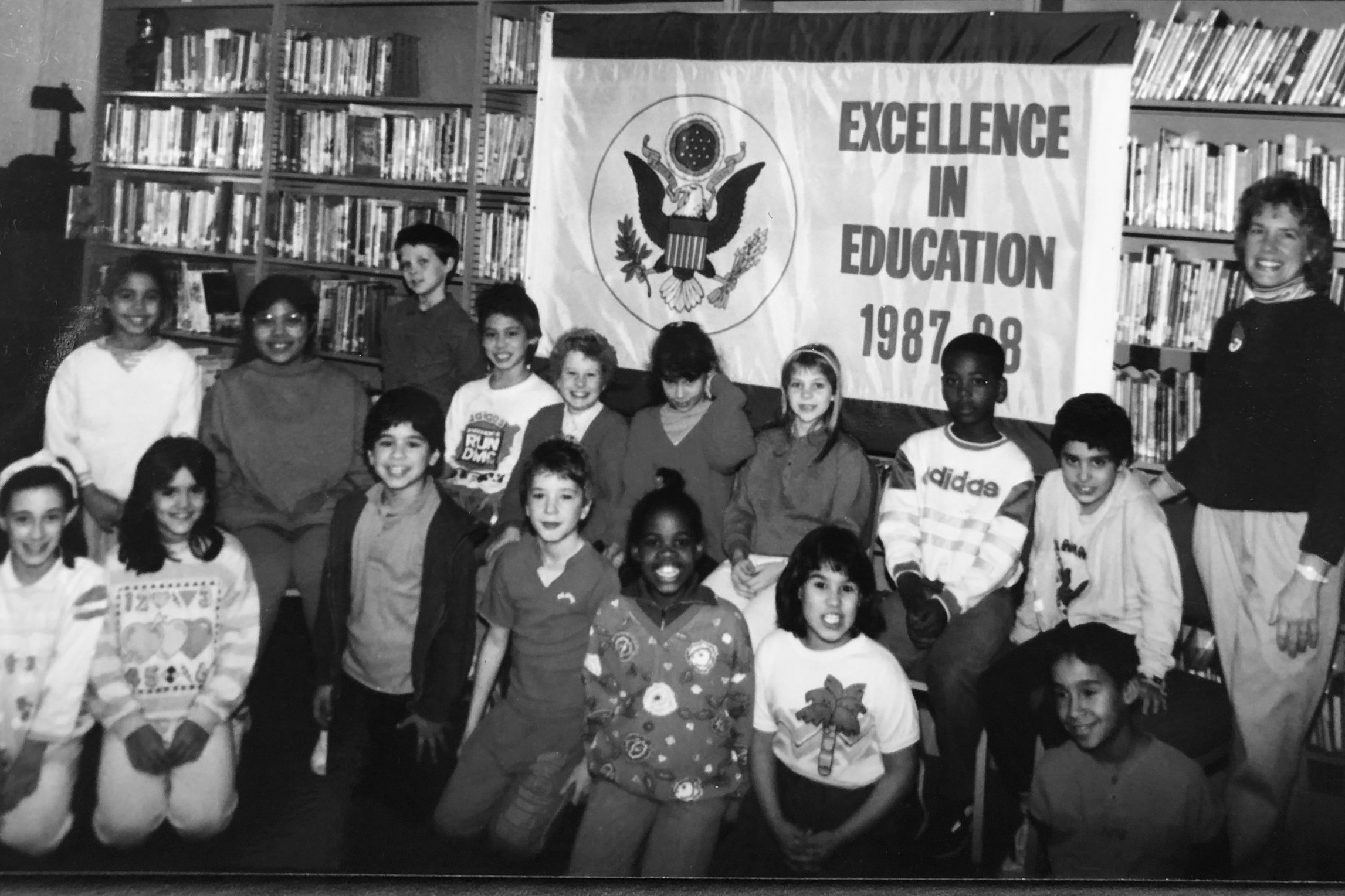 1988 - Received the Excellence in Education Award from the U.S. Department of Education, now known as the Blue Ribbon Award