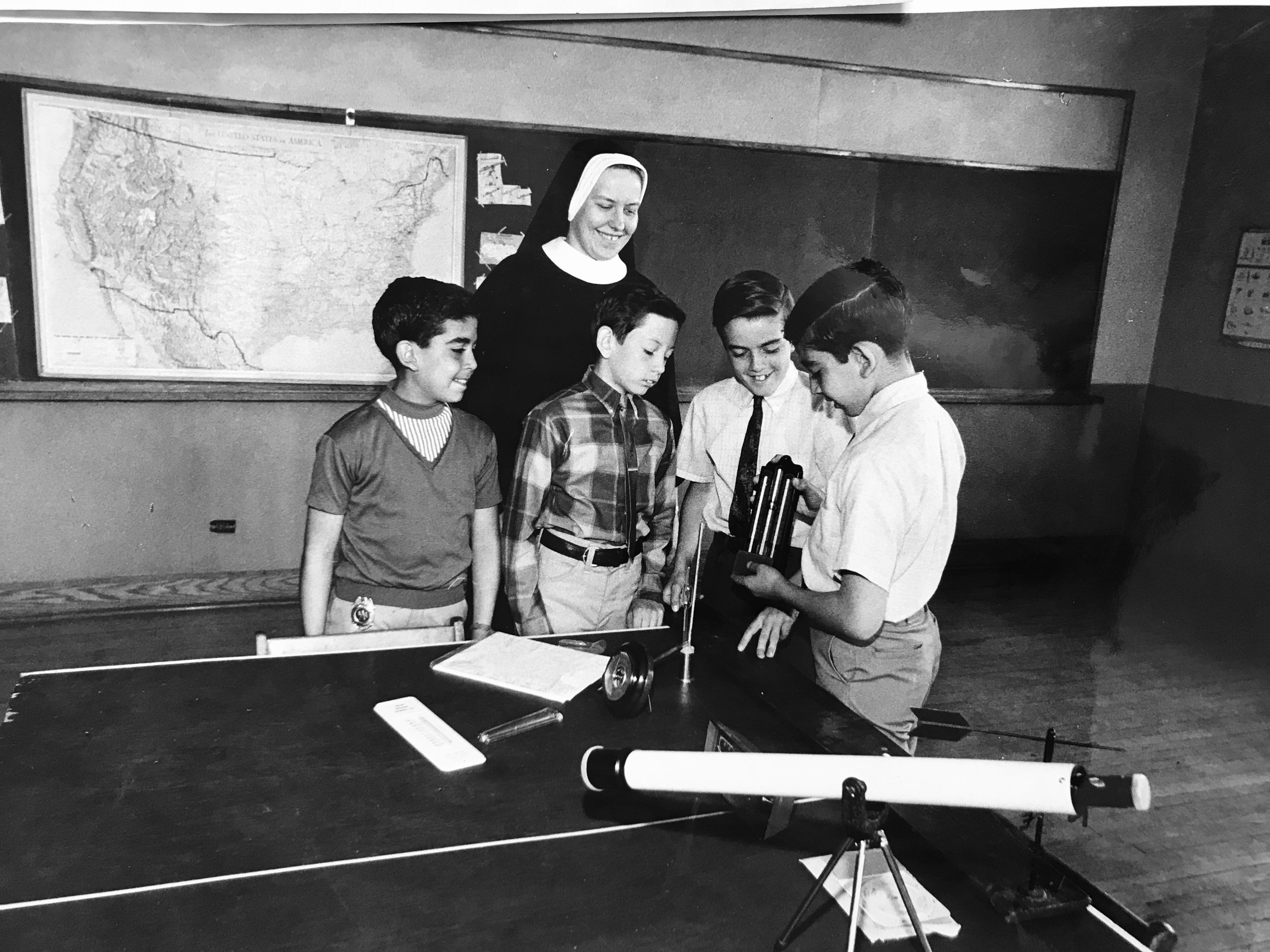 1968 - Urban Community School founded by the Ursuline Sisters of Cleveland and committed lay teachers located at St. Patrick and St. Malachi parishes