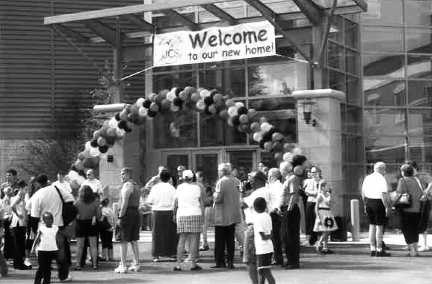 2005 - The Carolyn Heller Elementary Building opens at West 48th Street and Lorain Avenue