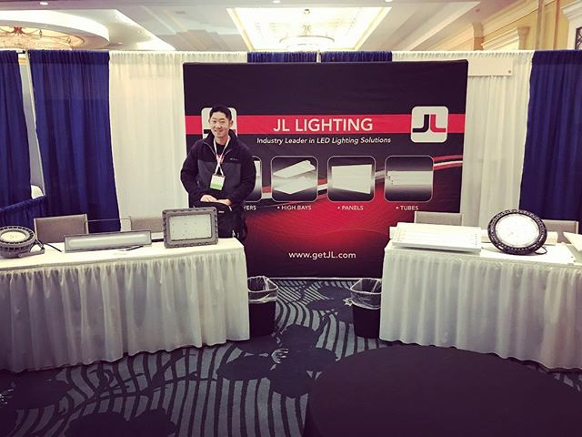 Come stop by Booth #101 at the #NAESCO show and check out the goods! #getJL #ledlighting #led #JL #highbays #ufo #explosionproof #panels #tubes