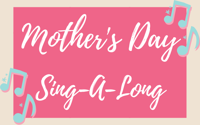 All women and children of all ages are invited to participate in our Mother's Day sing-a-long! Brief rehearsals will begin following the worship services on May 5th in the sanctuary. Ladies, grab your friends and be prepared to sing it out as we celebrate all women! For more information please contact Morgan Kennedy.
