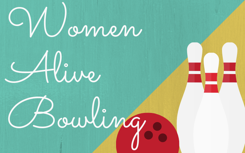 The ladies are going bowling! Come and bowl and enjoy fellowship at Dust Bowl Lanes on Saturday, May 4th. It will cost $10 for bowling. Food is available on location and you can purchase whatever you want. All ladies are invited, even if you don't want to bowl!