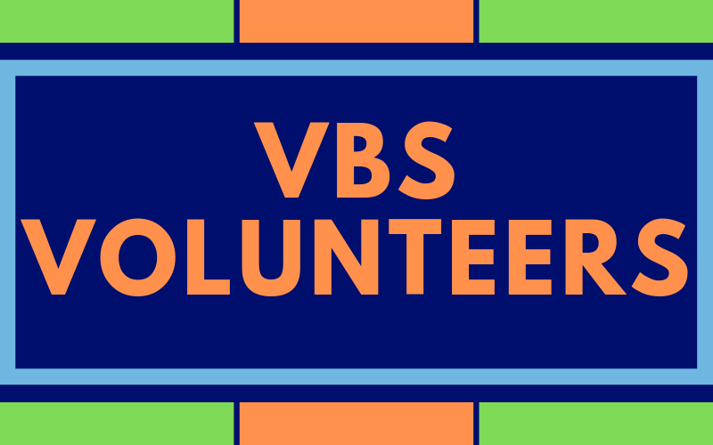We need volunteers to help with VBS. VBS will be on June 29th from 9:00 am - 3:00 pm. Talk with our children's director, Kendal Willis to see how you can help out!