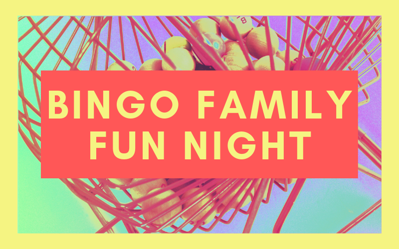 Join us for a night of bingo and family fun on Wednesday, June 5th. The fun will begin at 6:00 pm in Harris Hall.
