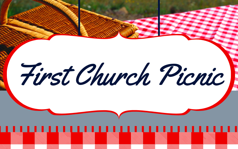 First Church will be having an all-church picnic this Sunday from 12:00 pm - 3:00 pm! It will be at Wiley Post Park, 2021 S. Robinson. The church will provide hot dogs, and we are asking the congregation to bring sides or desserts to share. Everyone should bring their own drink. We hope to see you there!
