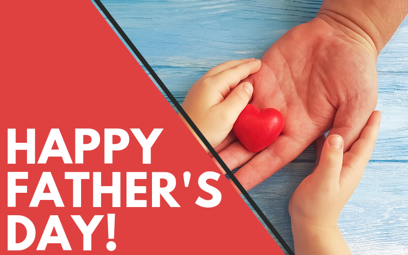 Happy Father's Day to all of the dads and father figures in our lives! We hope you have a blessed and joyous Father's Day this Sunday!