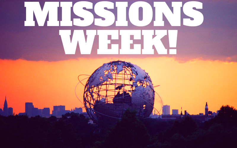 Missions Week is July 28 - August 4! There will be a Stamp out Starvation Meal Packing event on Sunday, July 28 from 8:30 am - 10:30 am. The Missions Week fundraiser is a barbecue cook-off and dessert auction on Wednesday, July 31 at 6:00 pm. Be looking for more information about these exciting events!
