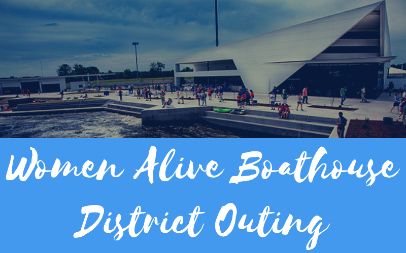 Women Alive is sponsoring outing on Saturday, August 3rd at the Boathouse District on the Oklahoma River south of Bricktown. Everyone is invited! Numerous activities for adults and children or just come to enjoy the fellowship. Sign-up in the Welcome Center starting this Sunday, July 14th. Starting time will be 11:00 am. For more details, the website is riversportokc.org. No entrance fee, just pay for the activities you choose.