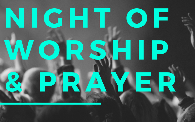 We will be having a Night of Worship & Prayer on Wednesday, August 14th starting at 6:00 pm. We hope you will join us for this spirit enriching event!