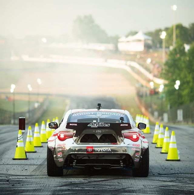 Best seats in the house are behind the wheel. Is @formulad Atlanta the best stop in the series ? 📷: @larry_chen_foto #motulnation #achillesradial #teamtoyota #86 #frs #ScionRacing