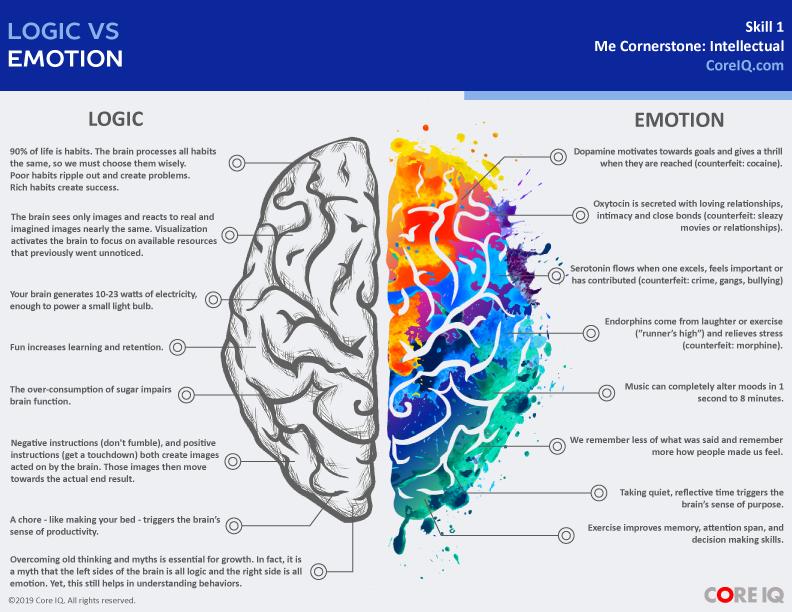 Skill 1: Logic vs Emotion