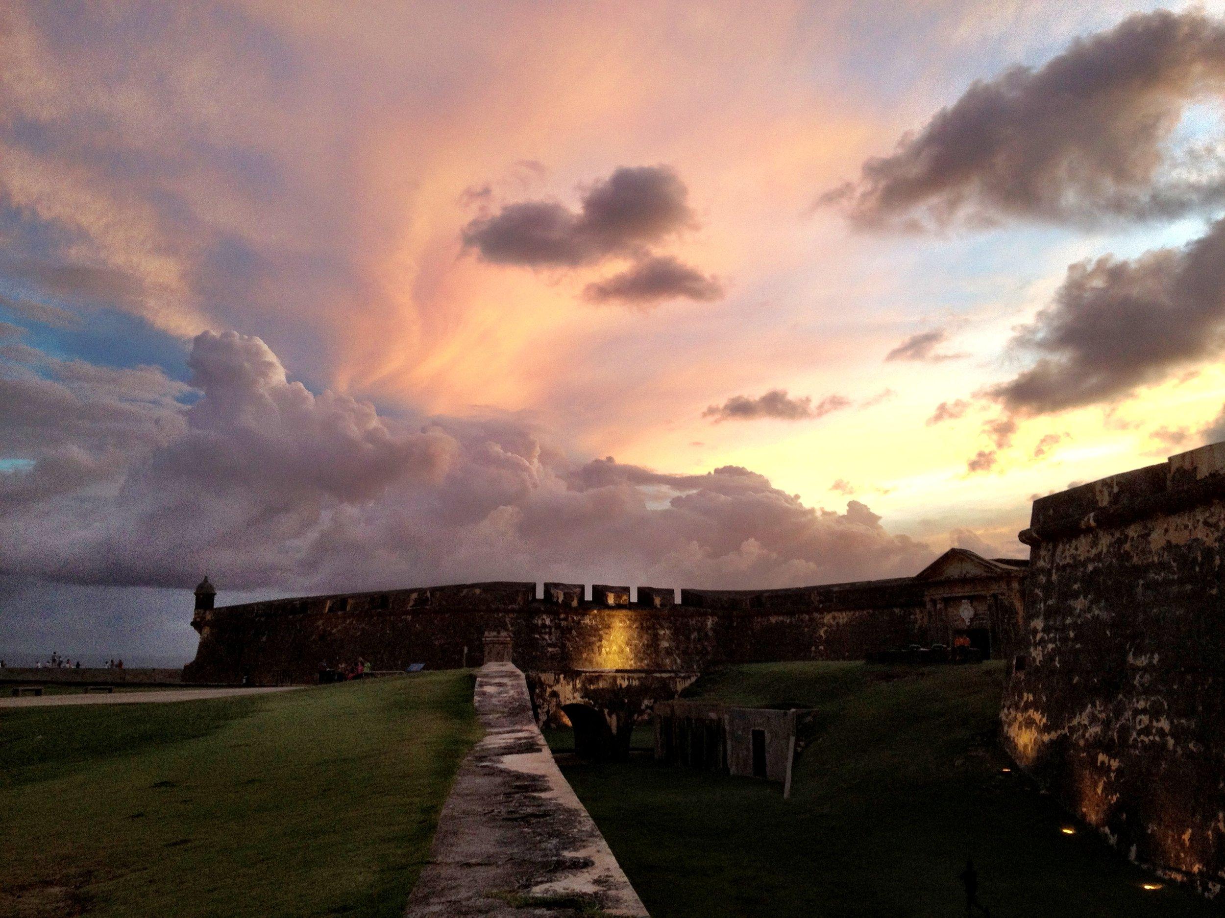 El Castillo San Felipe del Morro, San Juan, Puerto Rico (2011)