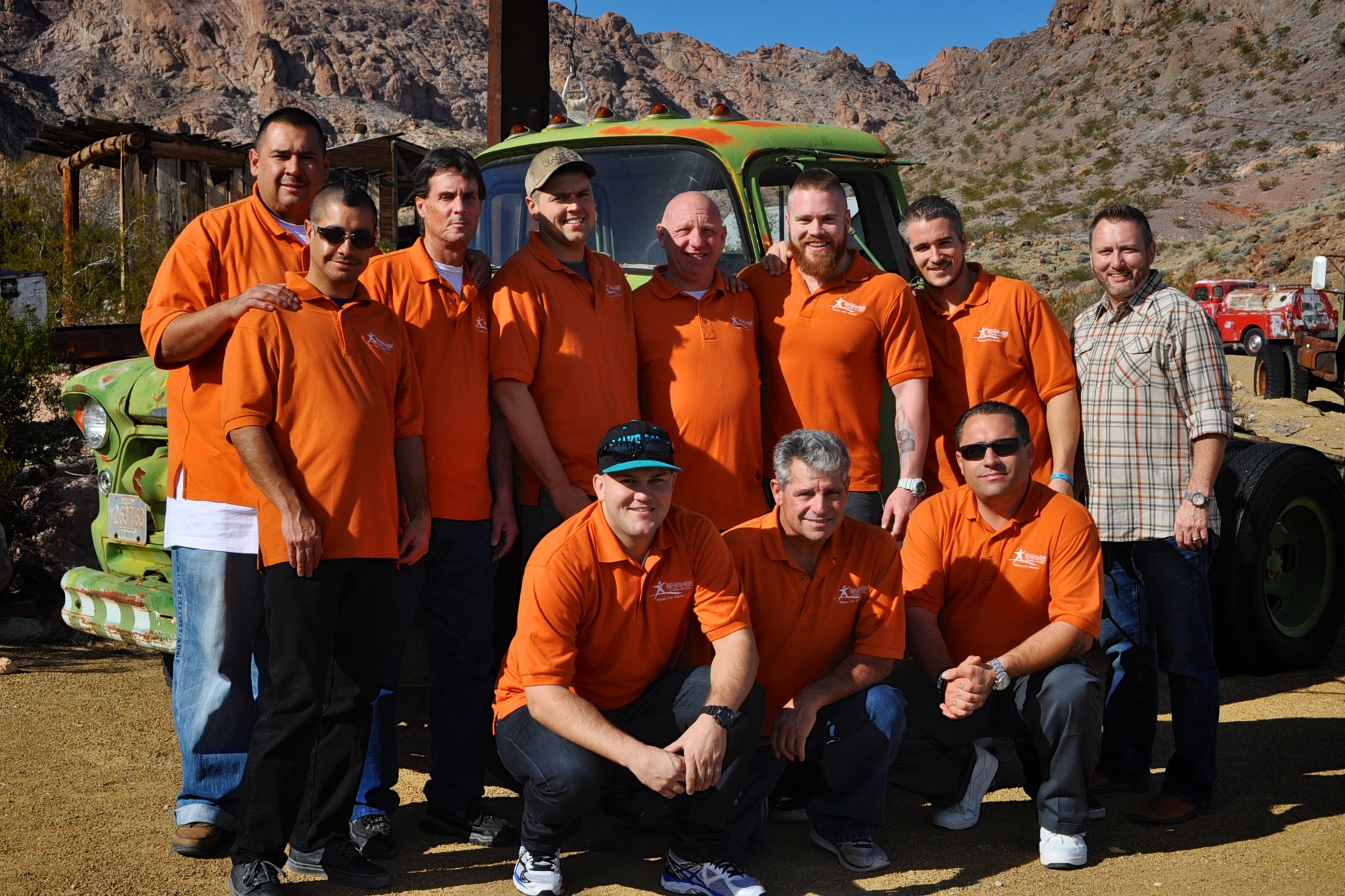 Students at the Teen Challenge NorWestCal Nevada Men's Center in Las Vegas, Nevada.