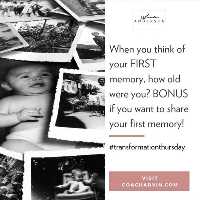 What's your #firstmemory?