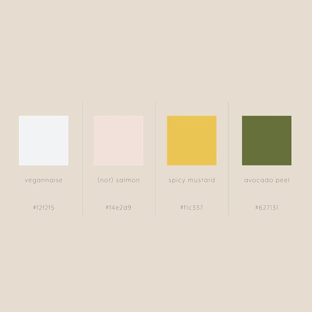 In addition to the hex colour codes we provide with every brand identity, we also make up adorable, apropos names for them all, inspired by your unique brand + awesome self 😇! Can you guess who these ones are for?! . . . . #hamont #yyz #creative #creativestudio #logodesign #branddesign #branding #brandconsulting #brandidentity #creativeagency #boutiqueagency #brandingagency #gooddesign #graphicdesigner #illustration #photography #photographer #contentcreation